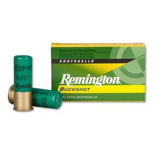 "Remington Express Buckshot 12 Gauge Ammunition 2-3/4"" #1 Buckshot 16 Pellets 1250 fps"