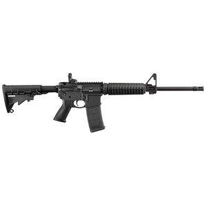 """Ruger AR-556 5.56 NATO Semi Auto Rifle 16.1"""" Barrel 30 Rounds Collapsible Stock Black"""