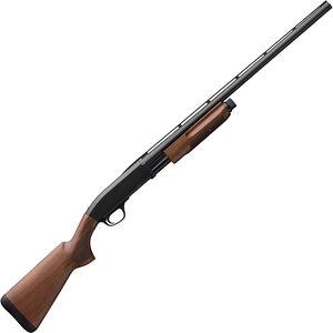 "Browning BPS Field 20 Gauge Pump Action Shotgun 26"" Barrel 3"" Chamber 4 Rounds Satin Walnut Stock Matte Blued Finish"