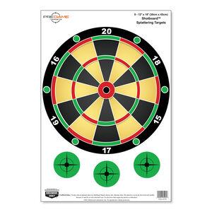 Birchwood Casey Dirty Bird Shotboard Splattering Targets 8 Pack