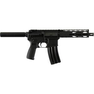 "Radical Firearms AR-15 Semi Auto Pistol 5.56 NATO 7.5"" Barrel 30 Rounds Free Float RPR M-LOK Handguard Pistol Buffer Tube Black"
