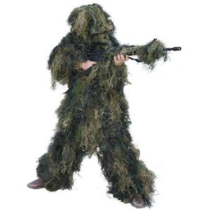 Red Rock Outdoor Gear 5 Piece Ghillie Suit Woodland Camo Youth Large 70915YL