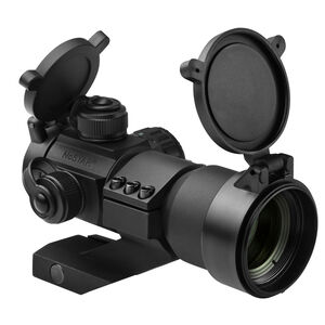 NCStar Tactical Red Dot Sight 30mm Tube 3 MOA Dot Red/Green/Blue Cantilever Weaver Mount Included Matte Black Finish