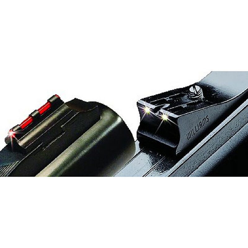 Williams Firesight Set Winchester 1300 Shotguns Fiber Optic Sights Fixed Front Adjustable Rear Steel/Aluminum Matte Black