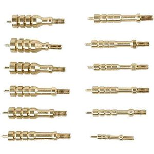 Tipton 12 Piece Solid Brass Jag Set