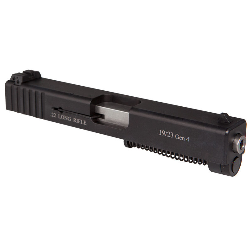 Advantage Arms GLOCK 19/23 Gen 4 Conversion Kit .22 Long Rifle 10 Rounds Black