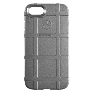 Magpul Field Case Apple iPhone 7/8 Flexible Thermoplastic Elastomer With PMAG Style Ribs For Grip Gray