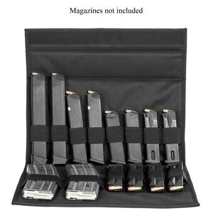 NcStar Pistol/Rifle Magazine Wallet 8 Rifle or up to 32 Pistol Magazines Black
