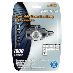 Nightstick Rechargeable Adjustable Beam Headlamp  USB-4708B