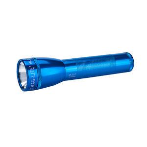 Maglite 2C Cell LED Flashlight Aluminum Blue
