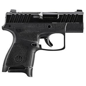 "Beretta APX A1 Carry 9mm Luger Semi Automatic Pistol 3"" Barrel 8 Rounds Optic Cut Slide Polymer Frame Black Finish"