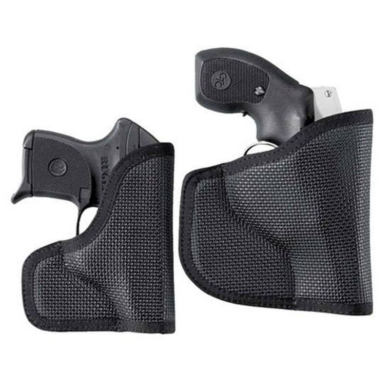 DeSantis N38 S&W Bodyguard .380 The Nemesis Pocket Holster Ambidextrous Nylon Black