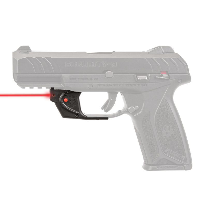 Viridian Essential Red Laser Sight for Ruger Security 9, Non-ECR Retail Box
