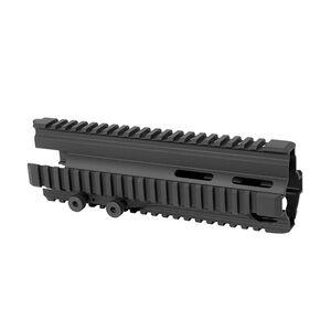 Heckler & Koch MR762 Quad Rail Hand Guard High Quality Aluminum Anodized Finish Matte Black