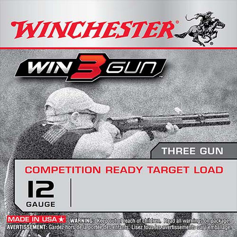 "Winchester Win3Gun 12 Gauge Shotshell 25 Rounds, 2 3/4"", 1oz #7.5 shot"