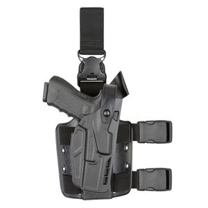 Safariland 7005 SLS Tactical Holster for S&W M&P 9/40 Full Size Right Hand SafariSeven Plain Black