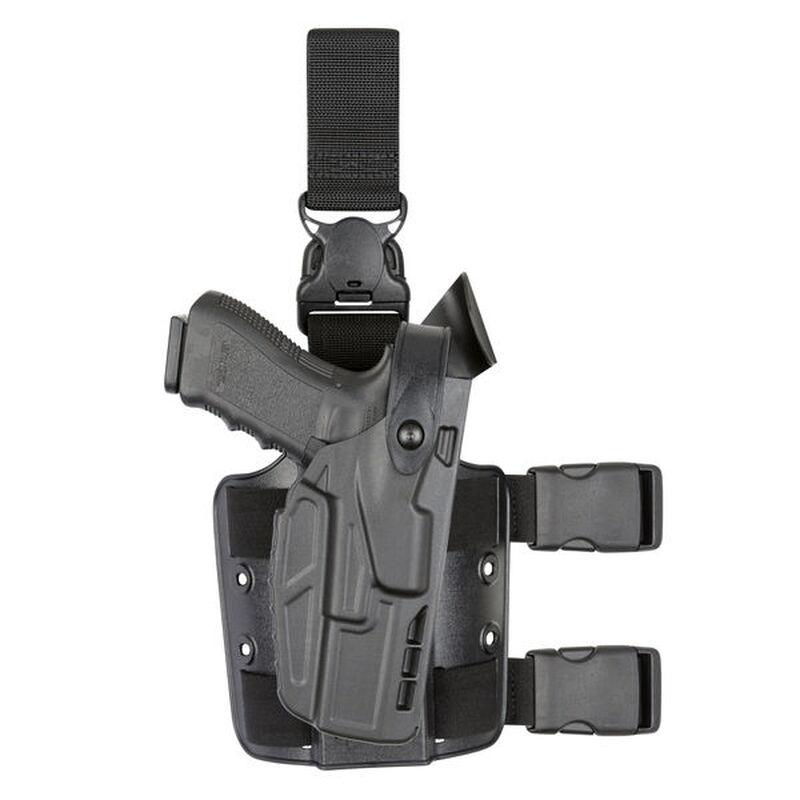 Safariland 7005 SLS Tactical Holster for S&W M&P 9/40 Full Size Right Hand SafariSeven Plain Black