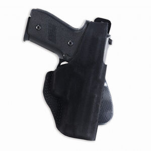 Galco Paddle Lite Ruger LCP Paddle Holster Left Hand Leather/Polymer Black PDL437B