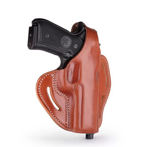 1791 Gunleather BHX-4 Dual Position OWB Thumb Break Belt Holster Alternative Full Size Semi Auto Models Right Hand Draw Leather Classic Brown