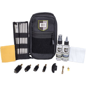 Breakthrough Clean Technologies Sportsman Shotgun Cleaning Kit Universal 12/20/28 Gauge and .410 Rod Style with Soft Case