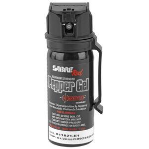 Sabre Red Crossfire Pepper Gel 1.8 oz Belt Clip