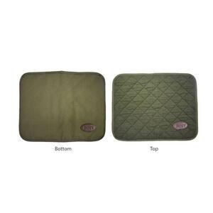 Boyt Harness Company Handgun Canvas Counter Cleaning Pad OD Green