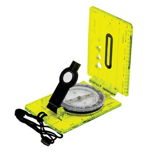 Ultimate Survival Technologies Hi Vis Lensatic Map Compass 20-12134