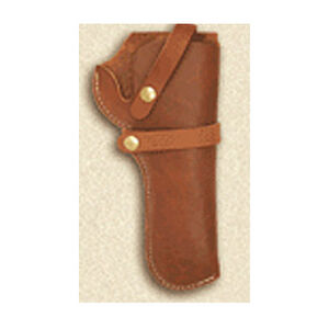 Hunter Snap-Off Belt Holster Size 48 Brown Leather Right Hand