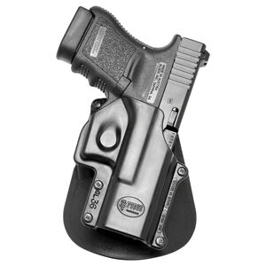 Fobus Paddle Holster For GLOCK 36 Right Hand Polymer Black GL36