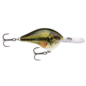 """Rapala Dives-To Series Custom Ink Lure Size 04 Length 2"""" Dives 4' Largemouth Bass"""
