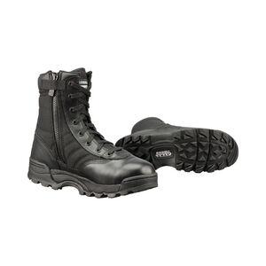 "Original S.W.A.T. Classic 9"" Side Zip Men's Boot Size 6 Regular Non-Marking Sole Leather/Nylon Black"