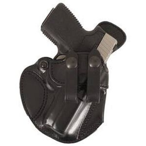 DeSantis Cozy Partner IWB Holster Ruger EC9s Kimber Ultra Carry Right Hand Black Leather