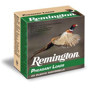 """Remington Pheasant Loads 12 Gauge Ammunition 250 Rounds 2.75"""" #4 Lead 1.25 Ounce PL124"""