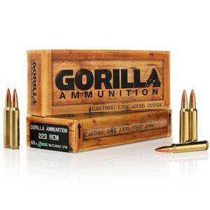 Gorilla .223 Rem 69 Grain SMK BTHP 20 Round Box