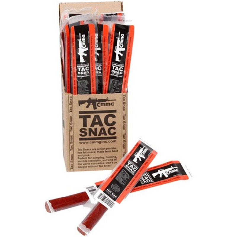 CMMG Tac Snac Pork and Beef Snack Sticks Habanero Flavor 12 Pack