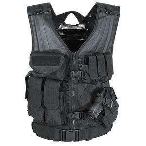 Voodoo Tactical MSP-06 Entry Assault Vest  Nylon Medium/XL Black Multicam 20-8112072335