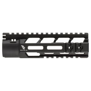 "Bootleg PicLok AR-15 7"" One Piece Free Float Hand Guard Full Length Mil-Spec Picatinny Top Rail 6061 Aluminum Hard Coat Anodized Matte Black Finish"