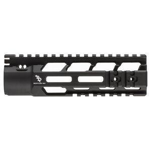 "Bootleg PicLok AR-15 7"" One Piece Free Float Hand Guard Full Length Mil-Spec Picatinny Top Rail 6061 Aluminum Hard Coat Anodized Matte Black Finish"