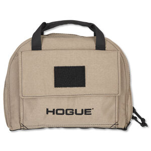 Hogue Gear Medium Pistol Bag Front Pocket 4 Magazine Pouch Nylon FDE 59243