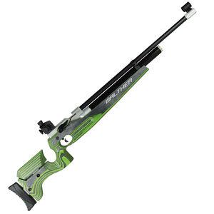 Walther LG400 Junior .177 Pellet Single Shot PCP Air Rifle Adjustable Wood Stock Green