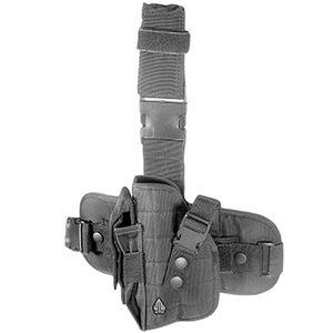 Leaper UTG Special Ops Universal Tactical Leg Holster Left Hand Nylon Black PVC-H178BL
