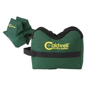 Caldwell DeadShot Front and Rear Shooting Rest Bag Set Nylon Green