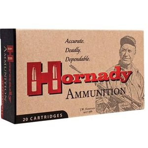 Hornady .243 Winchester Ammunition 20 Rounds 87 Grain V-Max Polymer Tip 3240fps