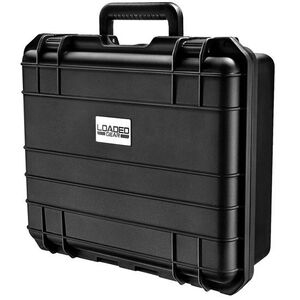 "BARSKA Loaded Gear HD-300 17""x6""x15"" Watertight Lockable Polypropylene Black BH11860"
