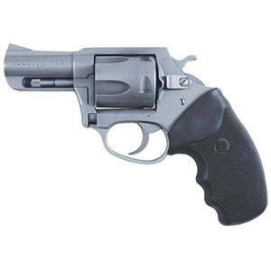 "Charter Arms Bulldog Revolver .44 Special 2.5"" Barrel 5 Rounds Rubber Grips Stainless Steel 74420"