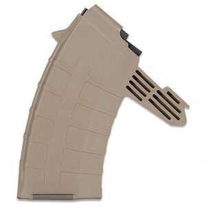 TAPCO INTRAFUSE SKS Magazine 7.62x39mm 20 Rounds Polymer Flat Dark Earth Detachable 16671