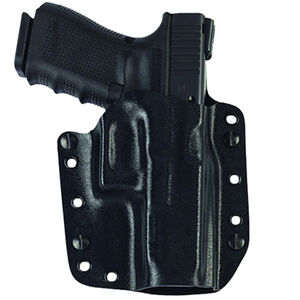 Galco Corvus Belt/IWB Kydex Holster for 1911 Black CVS212