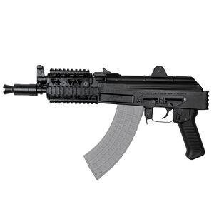 "Arsenal SAM7K AK-47 7.62x39mm Semi Auto Pistol 10.5"" Barrel 5 Rounds Milled Receiver Rear Quad Rail Vertical Picatinny Rail Matte Black"