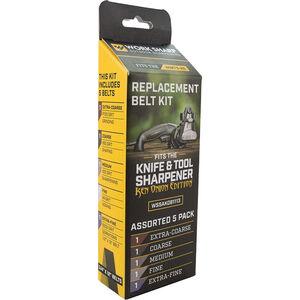 Work Shark Assorted Replacement Belt Kit - Ken Onion Edition Knife & Tool Sharpener