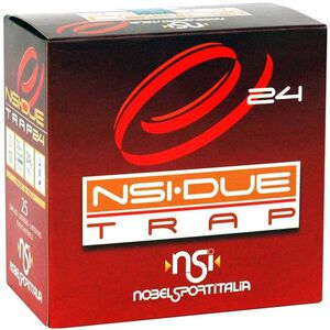 "NobelSport Due Trap24 12 Ga 2.75"" #8 Lead .875oz 25 Rounds"